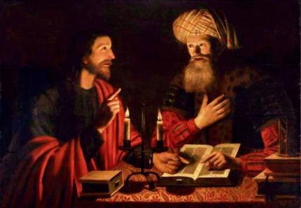 Crijn Hendricksz. Volmarijn (1601–1645) jesus_falando_com_nicodemus